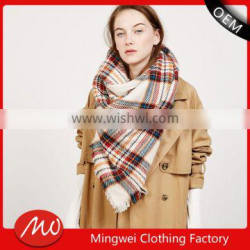 hot items 2017 new years products cashmere knitted lady scarf for sale