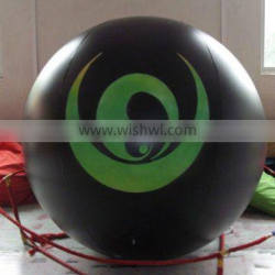 promotion advertising black inflatable balloon for event and activity