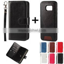 separable flip PU phone case cover with card slots for HTC desire one e9s A M X E D 10 9 8 7 + 728 620 626 816 828