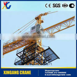 Construction crane machinery and parts on sale promtion,10 tons construction QTZ160 tower crane, traveling tower crane price