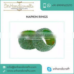 Bulk Selling of Napkin Ring Available with Elegant Designs and Patterns