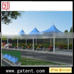 China factory PVDF Cover Q235 Steel wedding marquee Guarantee year 10years permanent structure