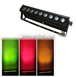 china supplier 9PCS RGABW 5in1 China led wall washer,led wash light for building decoration,audio light,American dj light