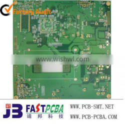 FR 4 communication pcba with micro switch pcb