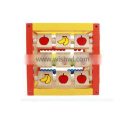 High Quality Montessori Toys Wooden Math And Fruit Set For Preshcool Kids Solid Wooden With Hot Selling