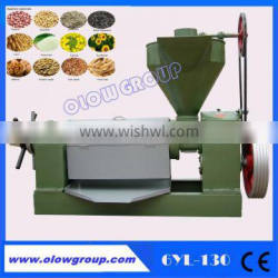 High Efficiency Oil extraction machine /Equipment with high quality/sobean oil seed presser