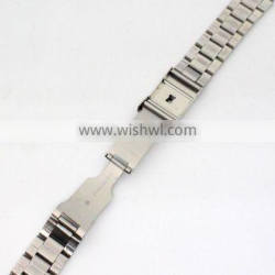 quality metal 18/20/22mm stainless steel watch straps