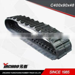 Agriculture Machinery rubber track(C400*90*LINGKS)