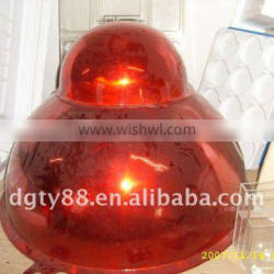 OEM Vac-Forming thick film blister plastic hanging ball for Christmas decoration