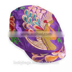 2016 hot selling hats embroidery hat for women traditional chinese hats