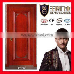 wooden venner painting door for apartment