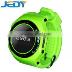 Real GPS WiFi LBS Tracker Kids Smart Wrist Watch for kids, GSM System with Two Way Communication/SOS/Alarms /Voice Remote watch