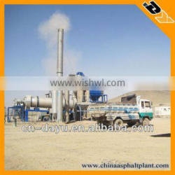 40T/H Mobile Drum Mixing Plant