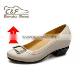 New model 2016 genuine leather comfort custom made ladies high heel shoes/shoes women/fashion shoes