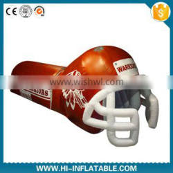 Attractive inflatable football helmet entrance inflatable tunnel for sale