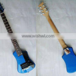 travel electric guitar with small body