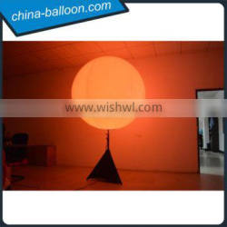 decoration inflatable standing balloon,led inflatable helium balloon with standing