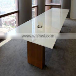 12mm thick Tempered Glass Dining Table top ,Colored glass table tops
