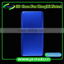 3D heat transfer smartphone cover aluminum injection mould for Prosub-redmi note 4
