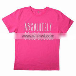 2017 Hot sale kids baby children's boutique clothing printing breathable short sleeve cotton t shirt wholesale china