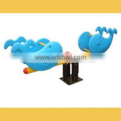 China Supplier New Product Playground Equipment Seesaw Swing