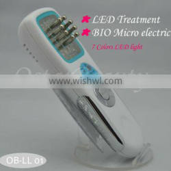 (CE Proof) Newest led Microcurrent beauty machine led light therapy