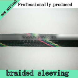 Heat shrinkable nylon braided sleeve for wire decoration