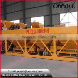 Better PLD1200A high quality swing setter batching plant