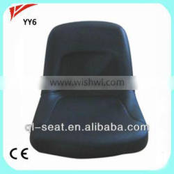 PVC cover low back hole digger seat for aftermaket used